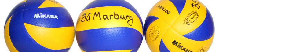 Blau-Gelb Marburg Volleyball: Mannschaften - Frauen und Männer bzw. Damen und Herren