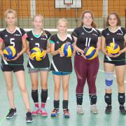 """Blau-Gelb Marburg Volleyball, Mädchen (""""Minis""""), Saison 2019/20"""